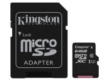 KINGSTON Class 10 Micro SD Card 64GB