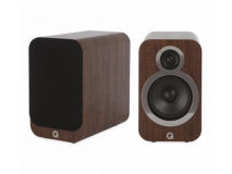 (2) Q 3020i Stereo Speakers WALNUT (Pair)