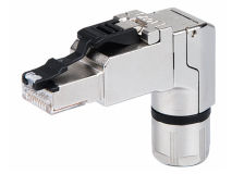 (1) TELEGARTNER RJ45 MFP8 R CAT6a Shielded