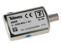 (1) TELEVES Variable Attenuator 1-20dB