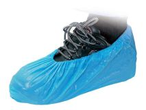"""(10) DISPOSABLE 14"""" CPE Overshoes"""