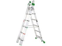 HEAVY DUTY 3.5m A Frame Combination Ladder