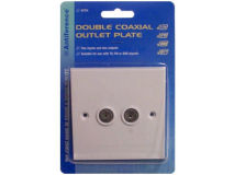 ANTIFERENCE Double Outlet Plate