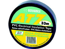 ADVANCE 19mm x 33m Standard PVC Tape BLACK