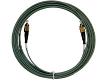 1m GLOBAL FC/PC Fibre Optic Lead Grey