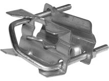 """SHELLEY 2"""" x 1"""" Clamp c/w 13mm Nuts"""