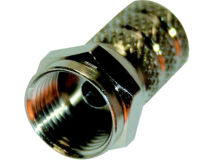 (100) BUDGET Screw F Plug 0.65mm (Tub)