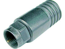 (1) CABELCON Crimp F Plug 1.65mm (Single)
