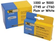 (5 Packs x1000) TACWISE CT60 Staples WHITE