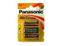 PANASONIC 'AA' Alkaline Batteries (Pack 4)
