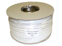 100m WEBNET CAT5e PVC External White(Drum)