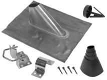 MZ60 LEAD 60mm Roof Entry Flashing Kit