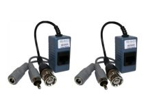 (2) CCTV Video/Audio/Power RG59 to CAT5