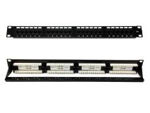 24 Port CAT6 Patch Panel c/w Cable Manager