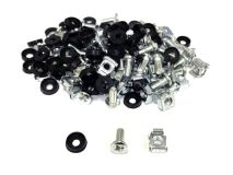 (50) ALL-RACK Nuts/Bolts/Washers CHROME