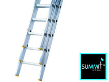 SUMMIT™ 4m-10m Professional Triple Ladder
