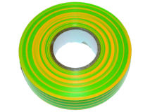 FMP 19mm x 33m BS3924 PVC Tape EARTH