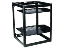 SANUS 15U Skeleton Rack (Black)