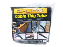 D-LINE Cable Tidy SPLIT TUBE 1.1m Black