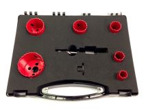 ELECTRICIANS 6 Piece Holesaw Kit