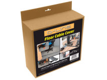 D-LINE Cable Tidy FLOOR COVER 1.8m Black