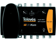 TELEVES Minikom Launch Amp