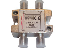 INTERNAL 2-12 F Type Tap (5-2400MHz)